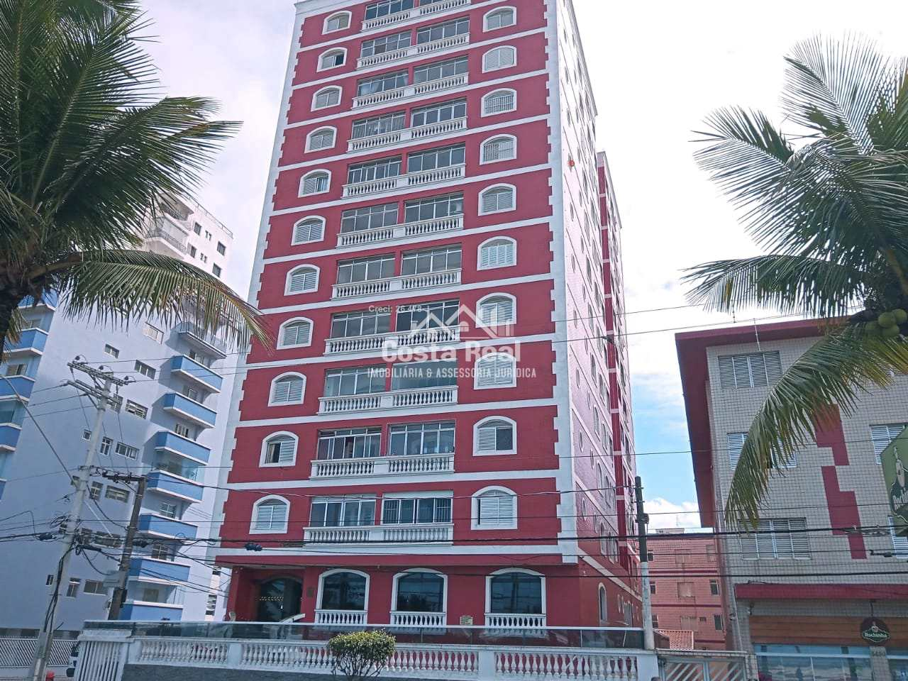 Apartamento com 3 dorms, Tupi, Praia Grande - R$ 360 mil, Cod: 1276