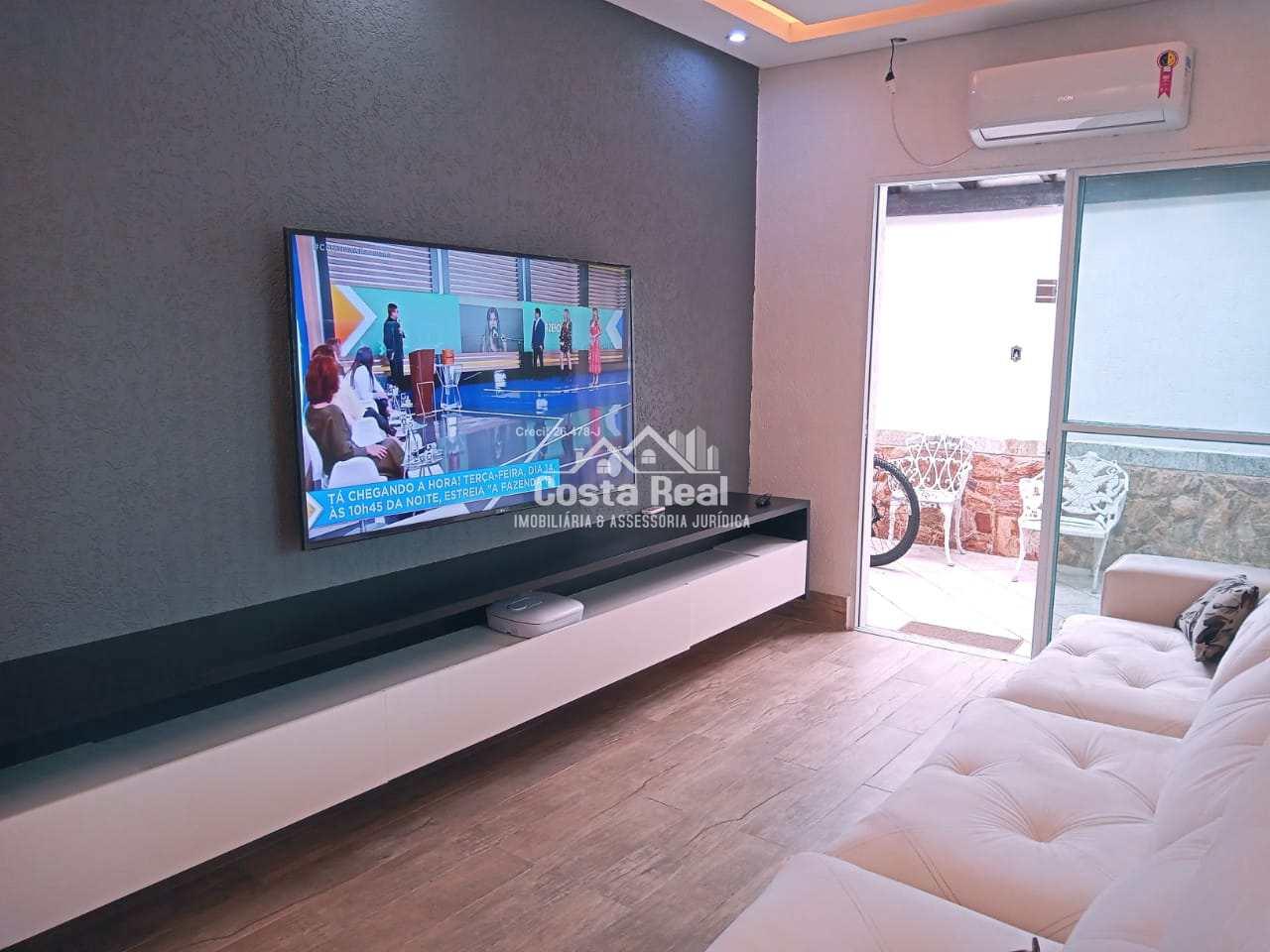 Casa com 2 dorms, Caiçara, Praia Grande - R$ 510 mil, Cod: 1454