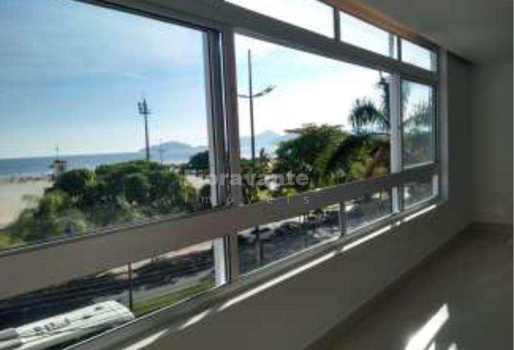 Apto  4 dorms, sendo 1 suíte, frente mar, Gonzaga, Santos -