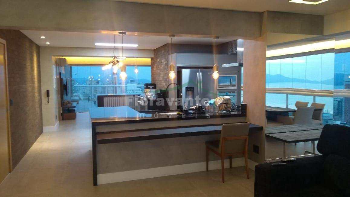 Cobertura Duplex com 4 suítes (1 Master), Gonzaga, Santos