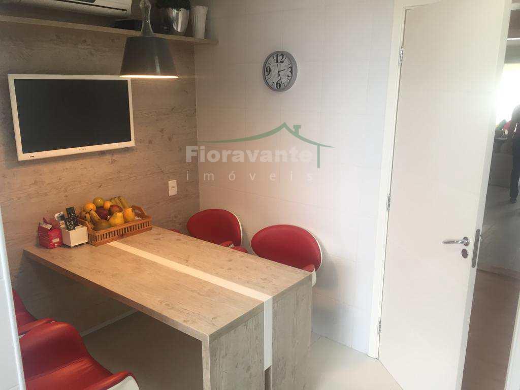 Apartamento com 3 suítes, Gonzaga, Santos com Terraço Gourmet
