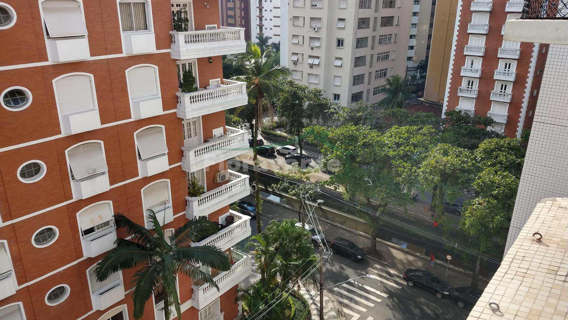 Apartamento com 3 dorms, Gonzaga, Santos. 2 quadras da praia.