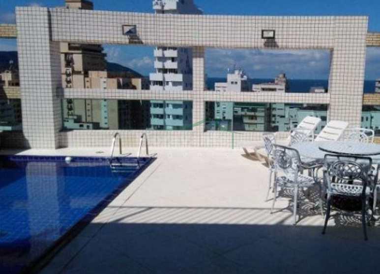 Cobertura Gonzaga em Santos com lazer, 3 suites,  2 vagas