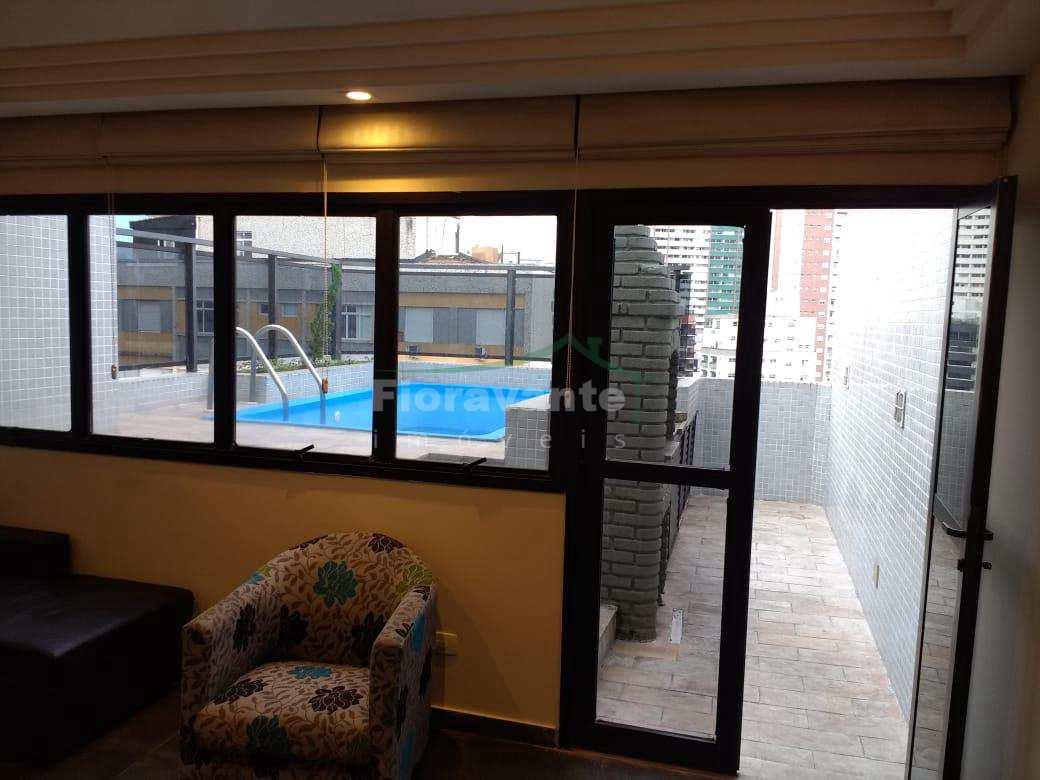 Cobertura com 2 dorms, Boqueirão, Santos - R$ 780 mil, Cod: 4979