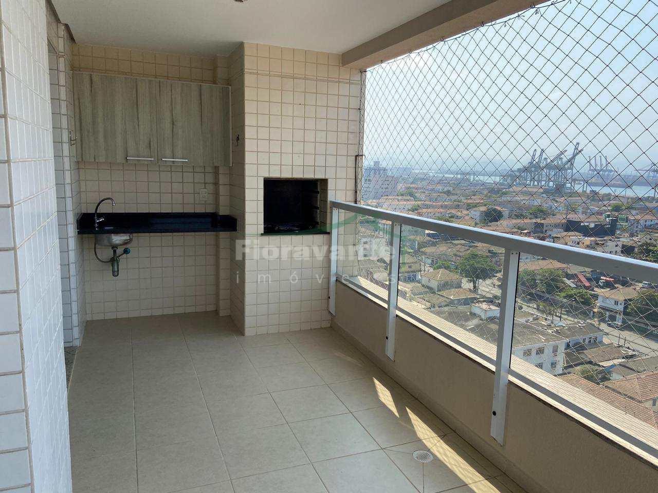 Apartamento com 3 dorms. (1 suíte) Ponta da Praia, Santos