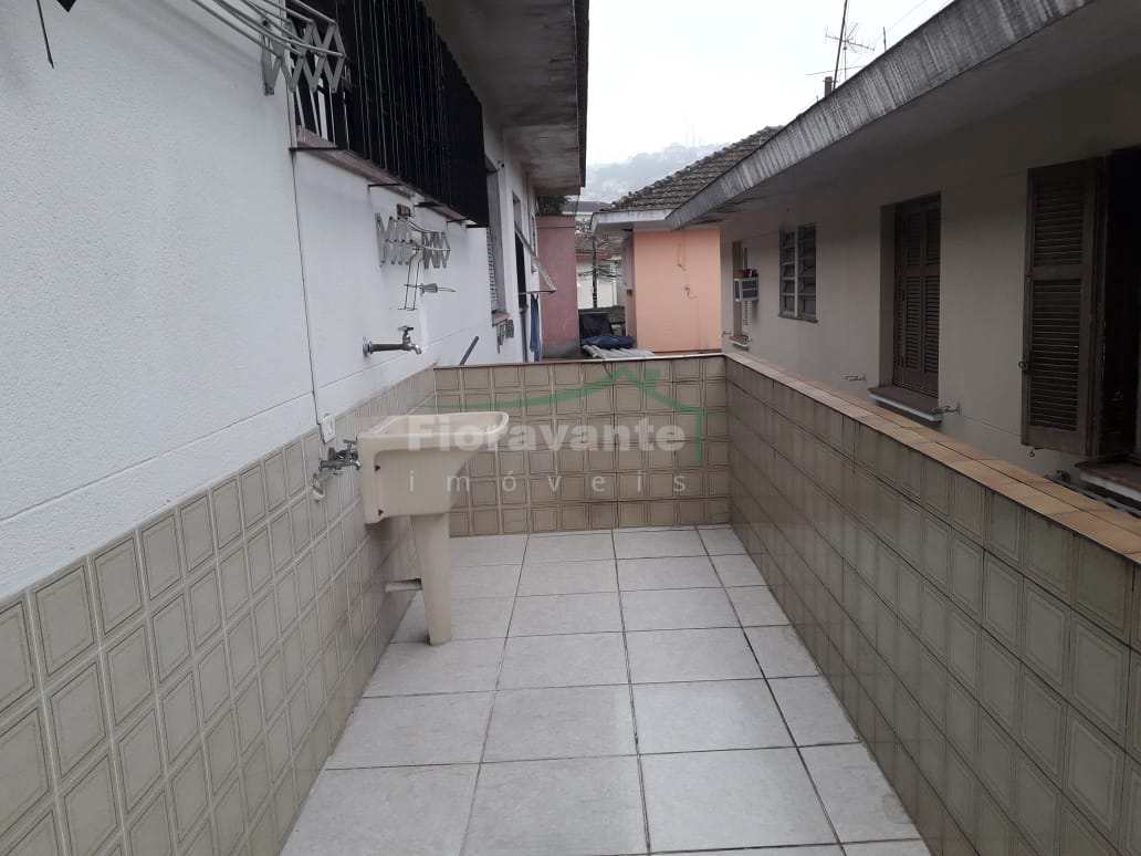 Casa com 3 dorms, Marapé, Santos, Cod: 5259