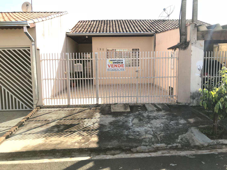 Casa com 2 dorms, Jardim Andrea Ville II, Tatuí - R$ 190 mil, Cod: 128