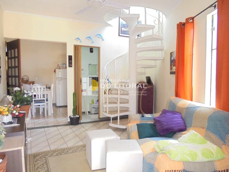 Sobrado de Condomínio com 2 dorms, Jardim Praia Grande, Mongaguá - R$ 240 mil, Cod: 107
