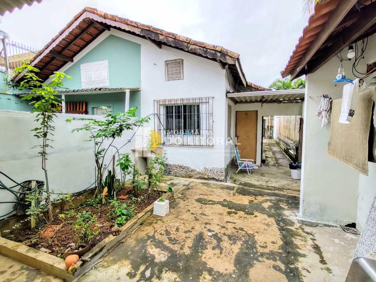 Casa com 1 dorm, Balneário Santa Eugênia, Mongaguá - R$ 210 mil, Cod: 423669