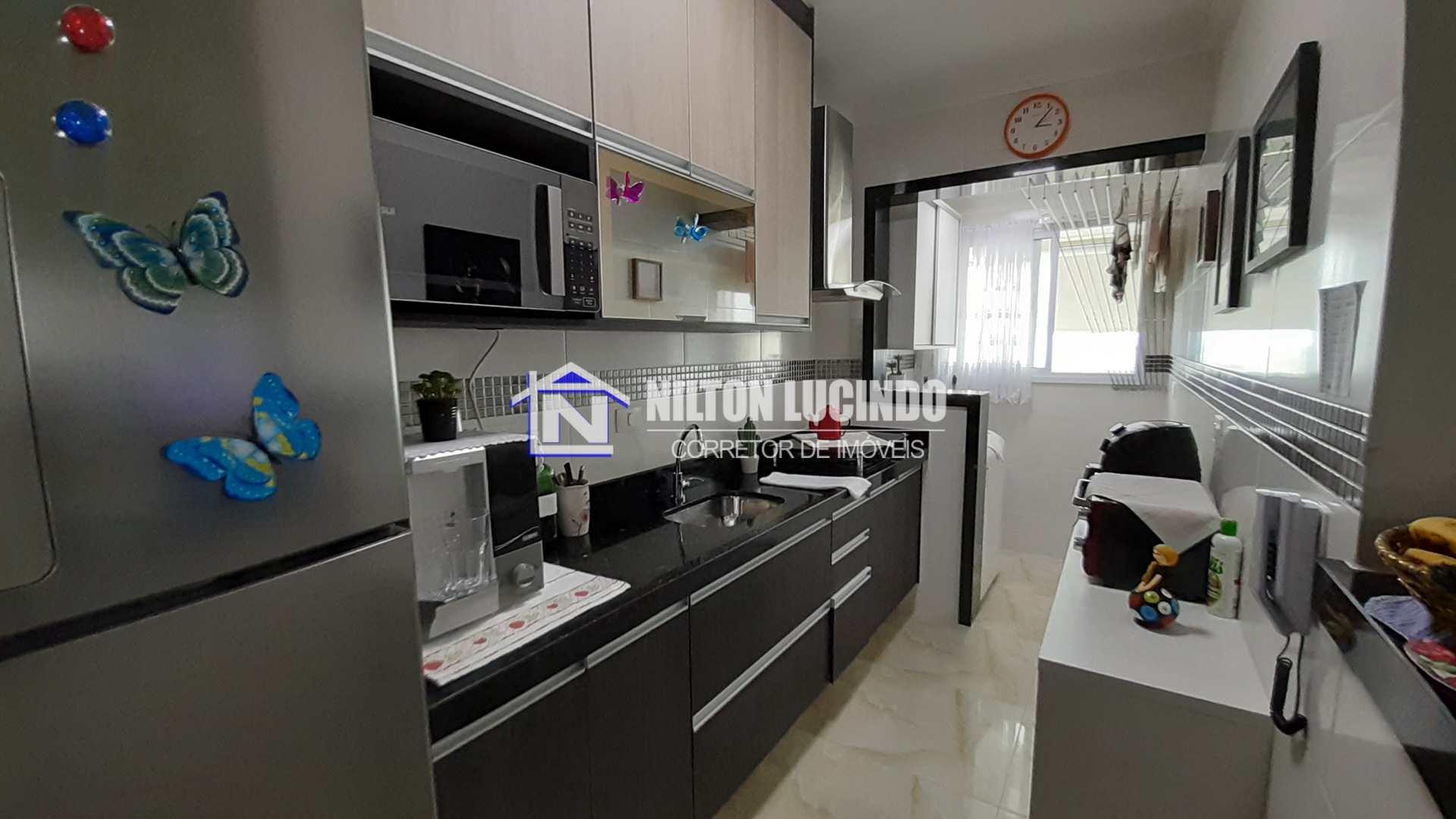 Apartamento com 2 dorms, Caiçara, Praia Grande - R$ 330 mil, Cod: 10166