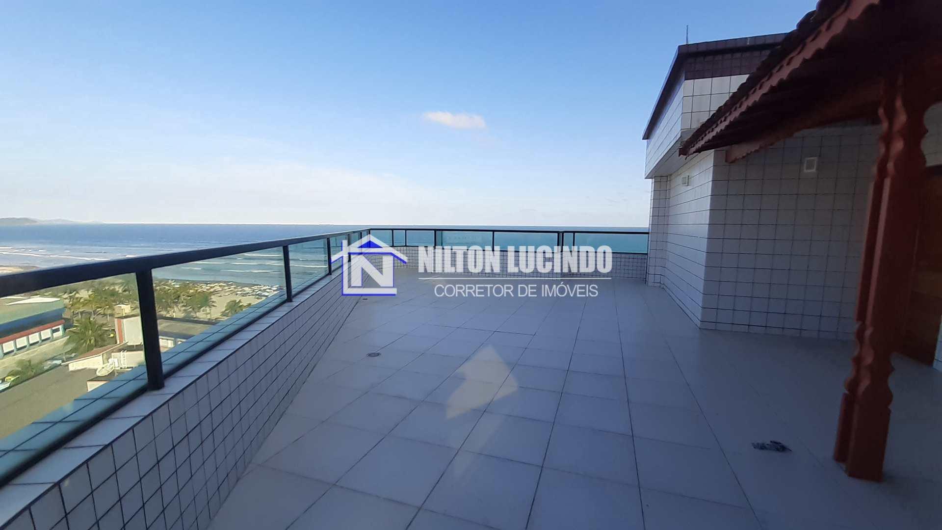 Cobertura com 3 dorms, Mirim, Praia Grande - R$ 400 mil, Cod: 10201