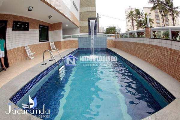 Apartamento com 2 dorms, Caiçara, Praia Grande - R$ 430 mil, Cod: 10228