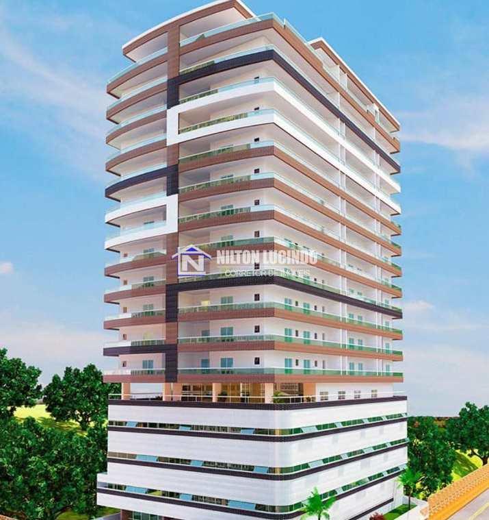 Apartamento com 1 dorm, Guilhermina, Praia Grande - R$ 250 mil, Cod: 10410