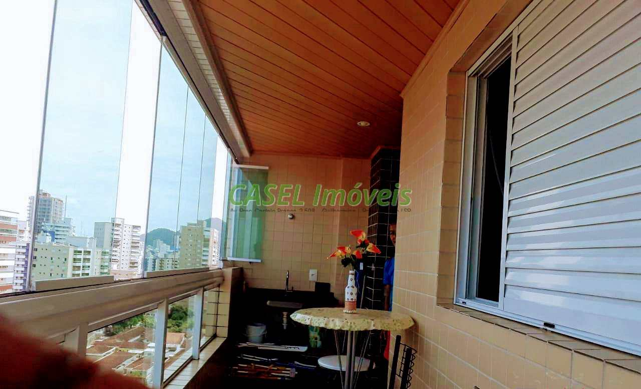 Apartamento com 1 dorm, Guilhermina, Praia Grande - R$ 240 mil, Cod: 804054