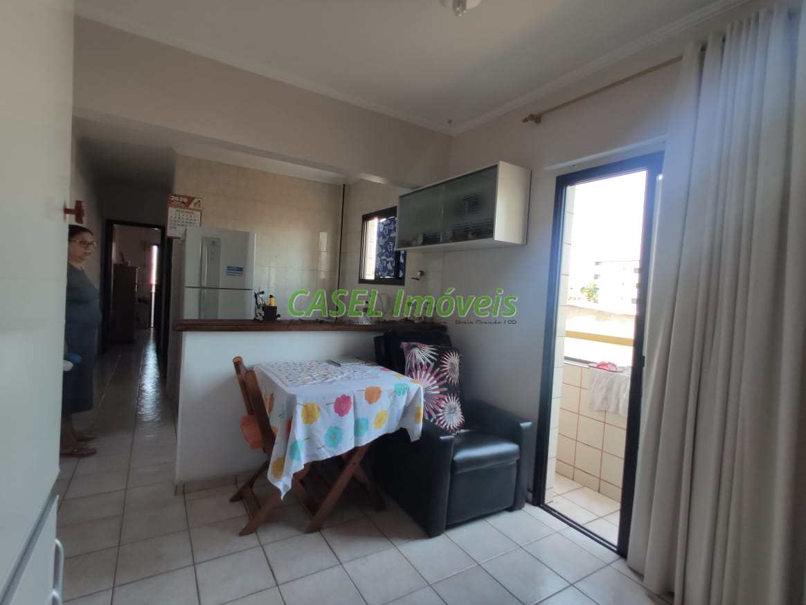 Apartamento com 1 dorm, Guilhermina, Praia Grande - R$ 165 mil, Cod: 804160