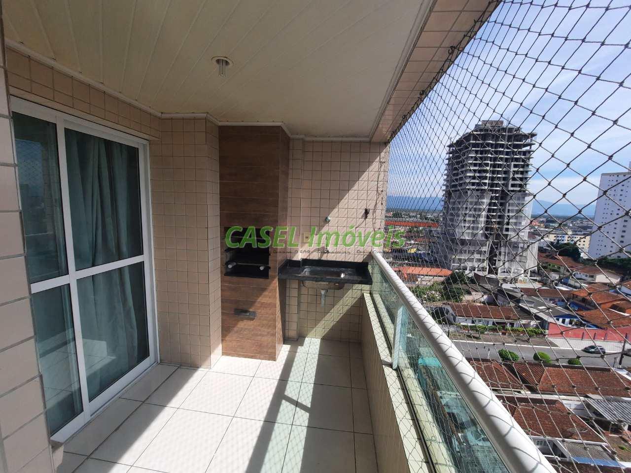 Apartamento com 3 dorms, Guilhermina, Praia Grande - R$ 550 mil, Cod: 804202