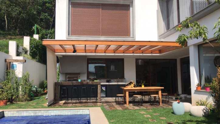 Casa de Condomínio Tamboré, 4 suítes, ambientes integrados