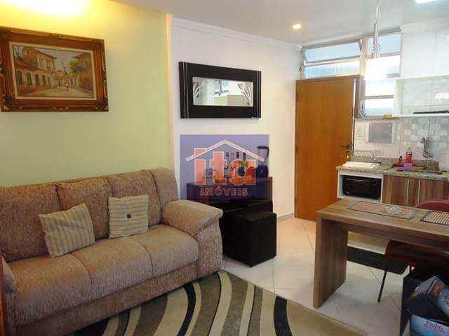Apartamento com 2 dorms, Praia do Sonho, Itanhaém - R$ 180 mil, Cod: 276990
