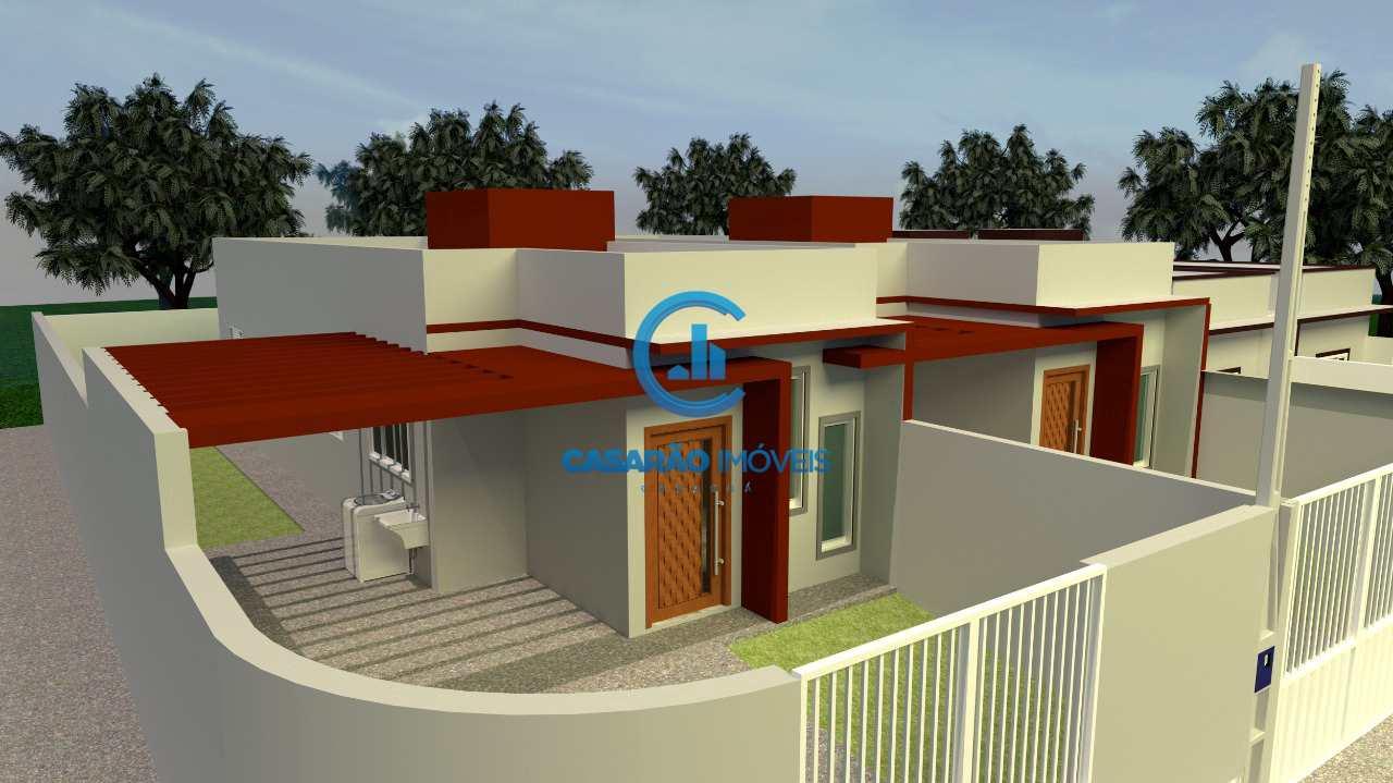Casa com 2 dorms, Balneario Mar Azul, Caraguatatuba - R$ 190 mil, Cod: 1270