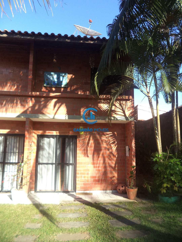 Sobrado com 2 dorms, Martim de Sá, Caraguatatuba - R$ 240 mil, Cod: 1204