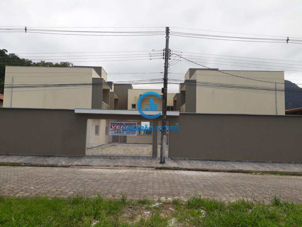 Sobrado de Condomínio com 2 dorms, Martim de Sá, Caraguatatuba - R$ 345 mil, Cod: 1170