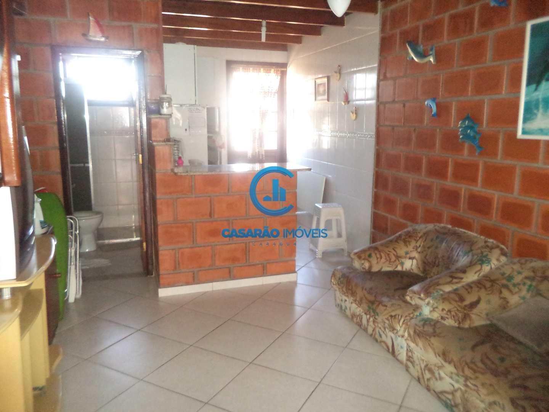Sobrado com 2 dorms, Loteamento Balneário Camburi, Caraguatatuba - R$ 192 mil, Cod: 1125
