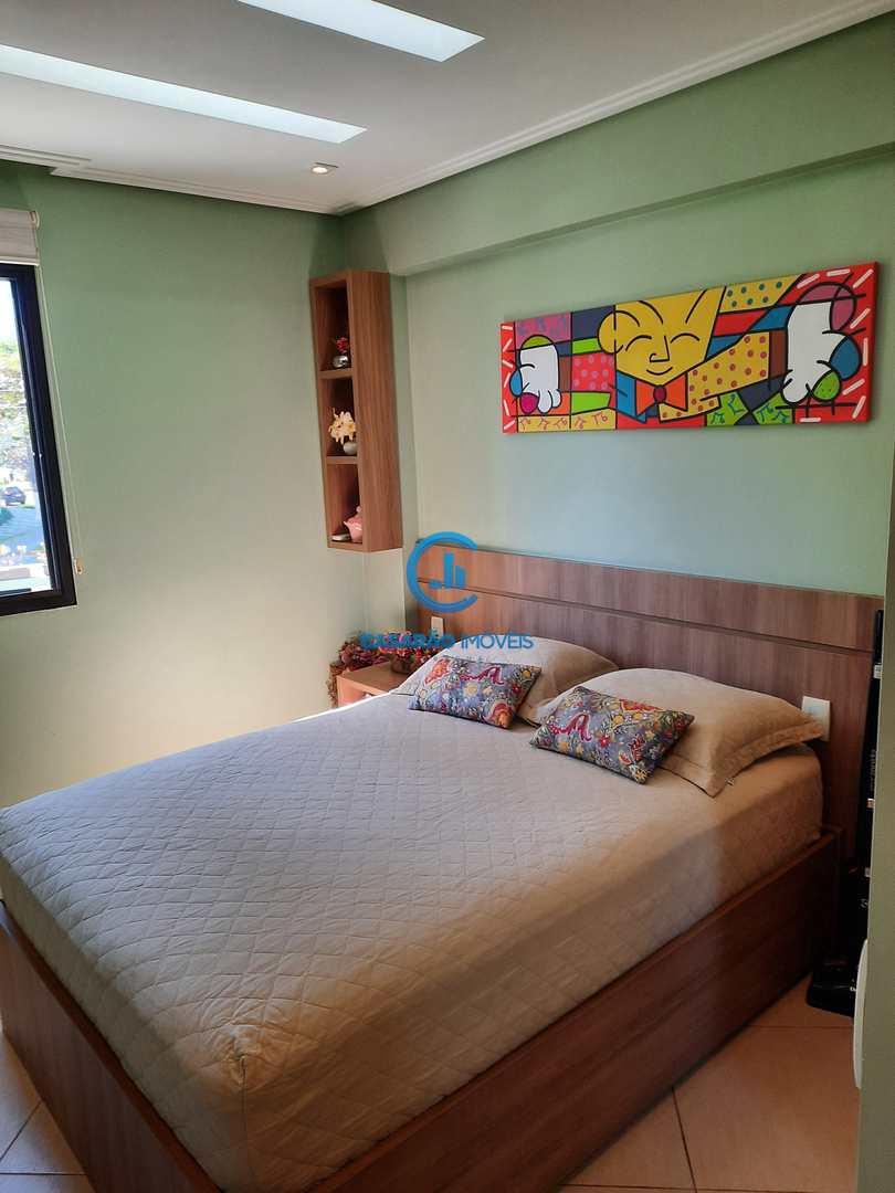 Apartamento com 3 dorms, Martim de Sá, Caraguatatuba - R$ 650 mil, Cod: 9107