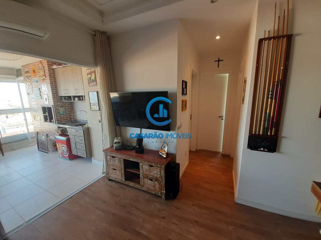 Apartamento com 2 dorms, Martim de Sá, Caraguatatuba - R$ 650 mil, Cod: 9155