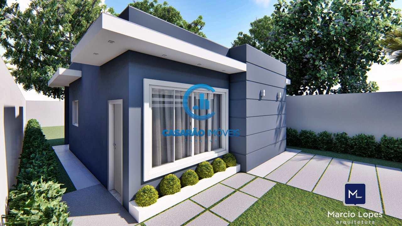 Casa com 2 dorms, Massaguaçu, Caraguatatuba - R$ 285 mil, Cod: 9170
