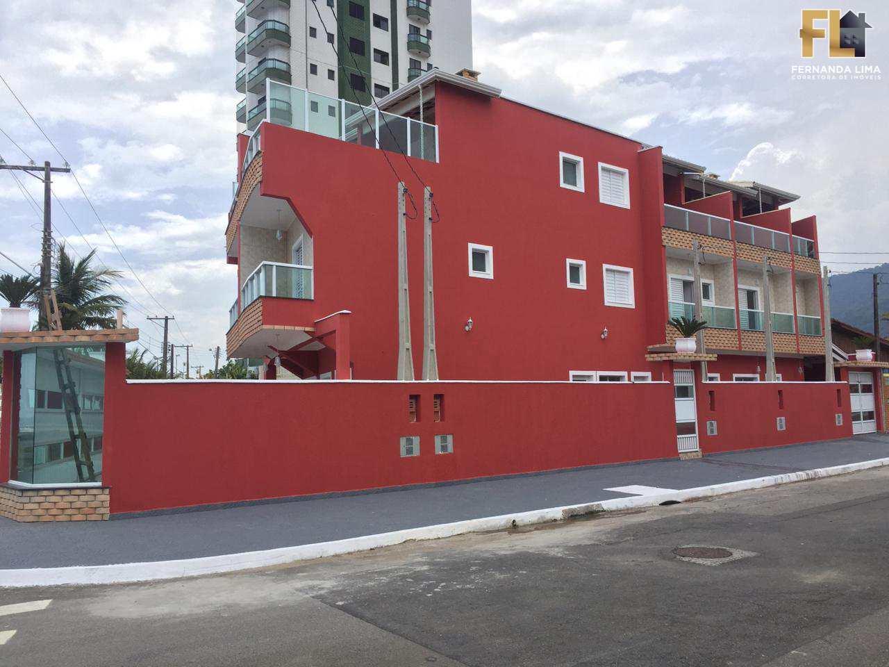 Casa de Condomínio com 3 dorms, Flórida, Praia Grande - R$ 299 mil, Cod: 45057