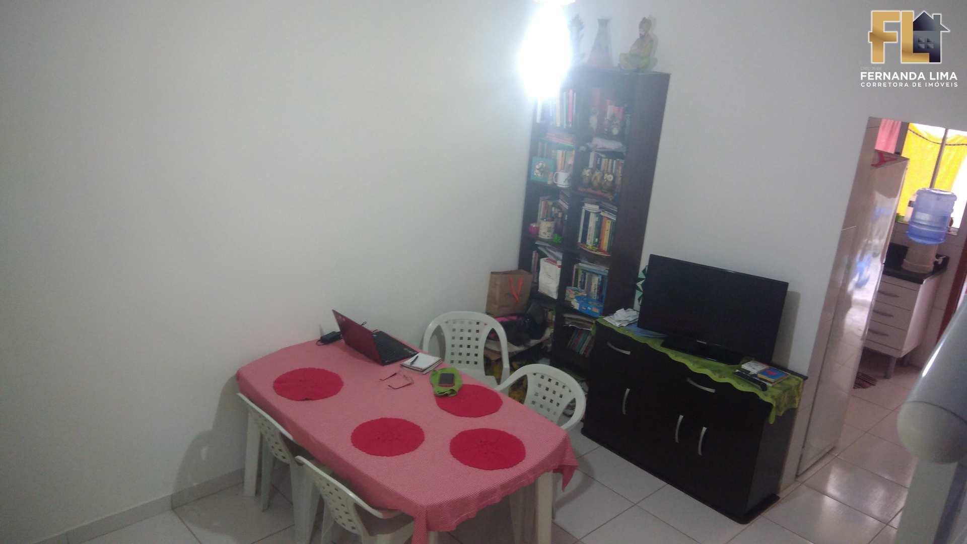 Casa de Condomínio com 2 dorms, Pedreira, Mongaguá - R$ 224 mil, Cod: 45177