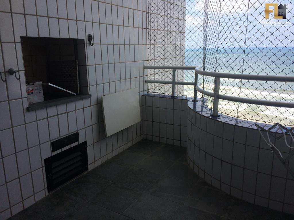 Apartamento com 3 dorms, Vila Atlântica, Mongaguá - R$ 350 mil, Cod: 45184
