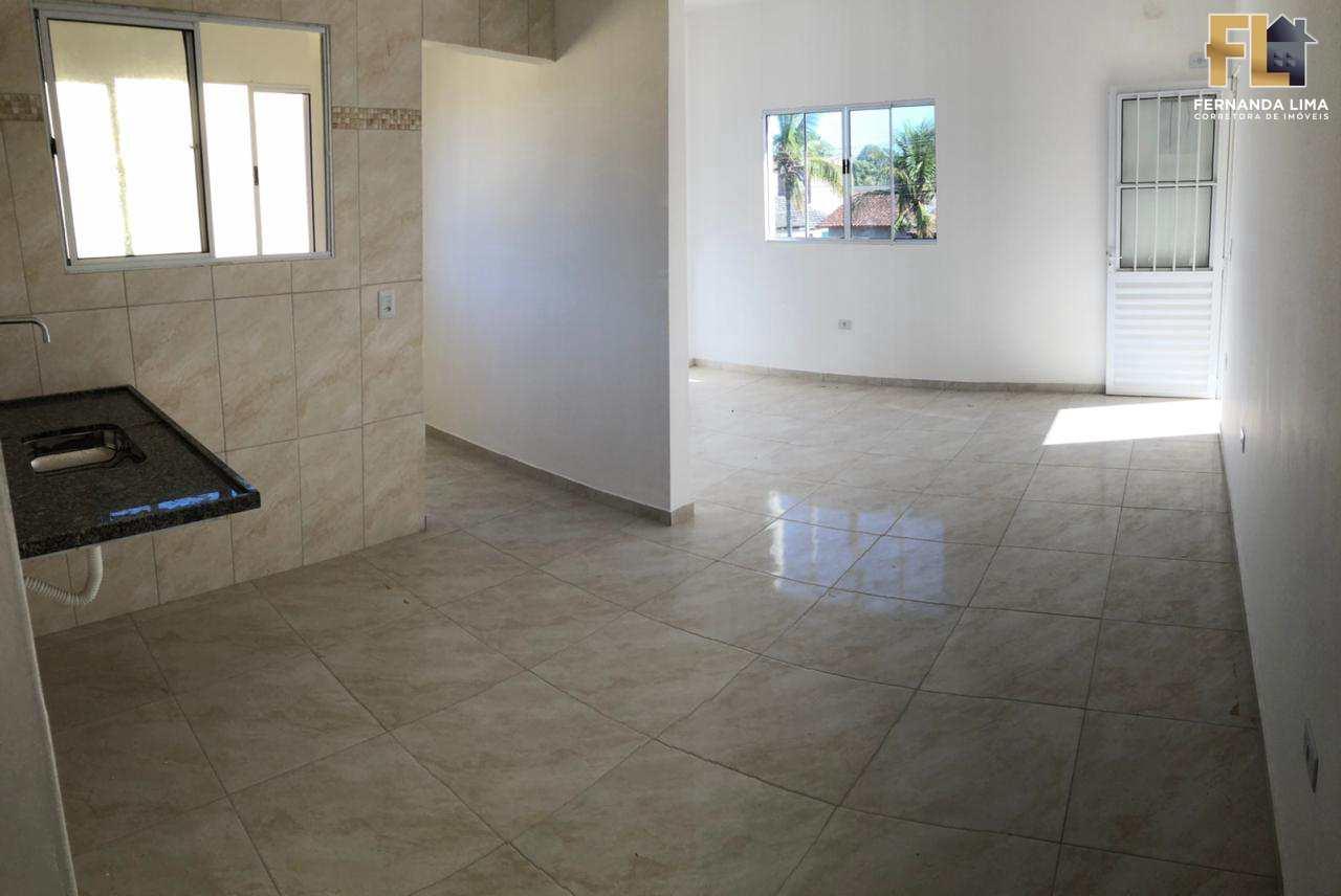 Casa com 2 dorms, VILA NOVA ITANHAEM, Itanhaém - R$ 159 mil, Cod: 45245