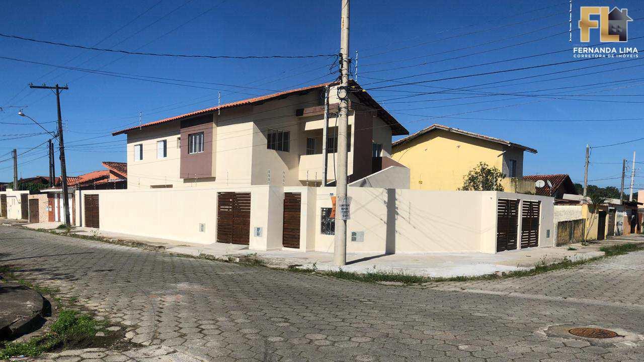 Casa com 2 dorms, VILA NOVA ITANHAEM, Itanhaém - R$ 154 mil, Cod: 45246
