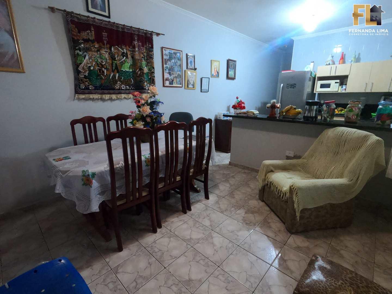 Casa com 3 dorms, Vila Atlântica, Mongaguá - R$ 320 mil, Cod: 45317