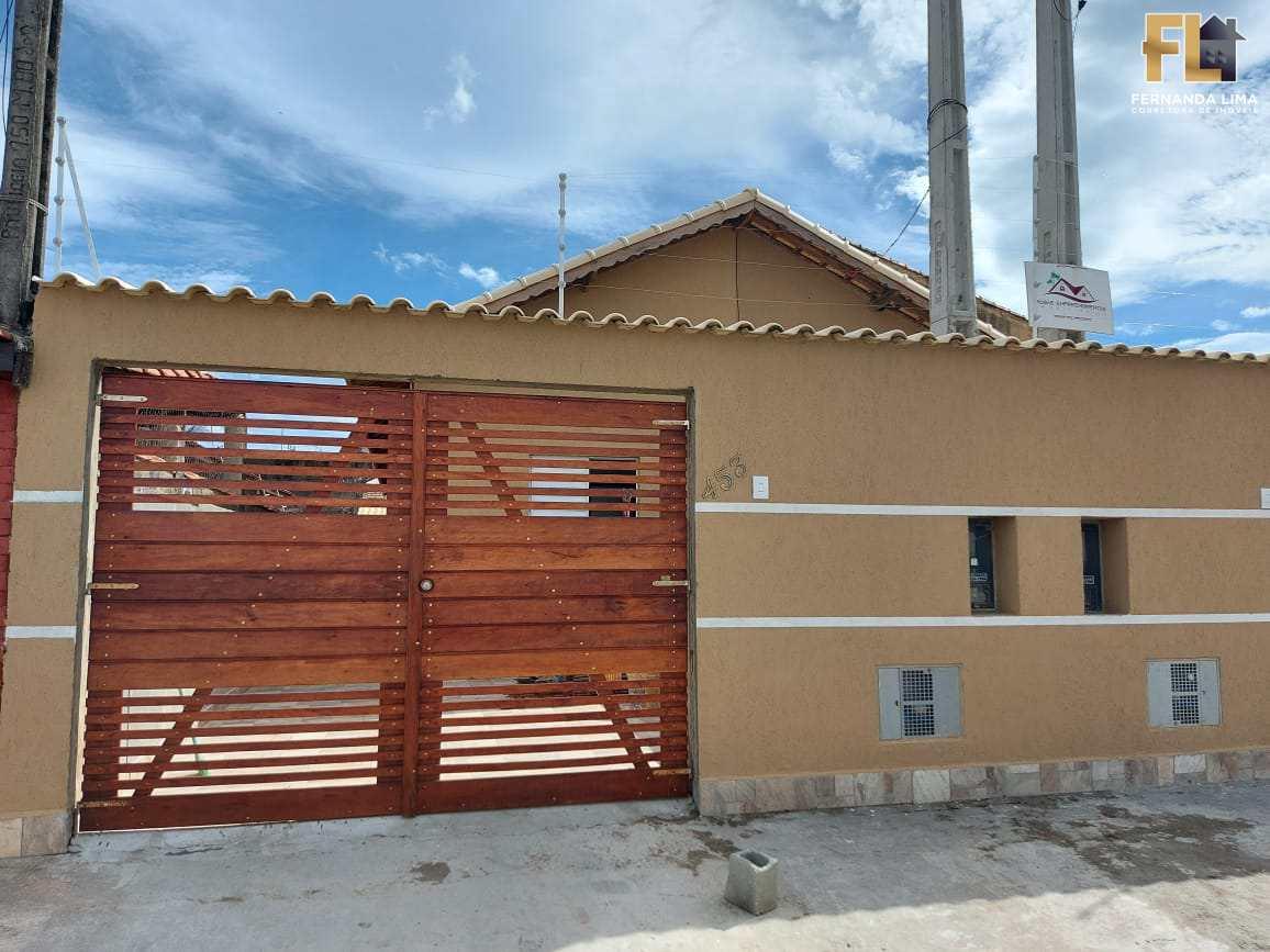 Casa com 2 dorms, Nova Itanhaém, Itanhaém - R$ 195 mil, Cod: 45333
