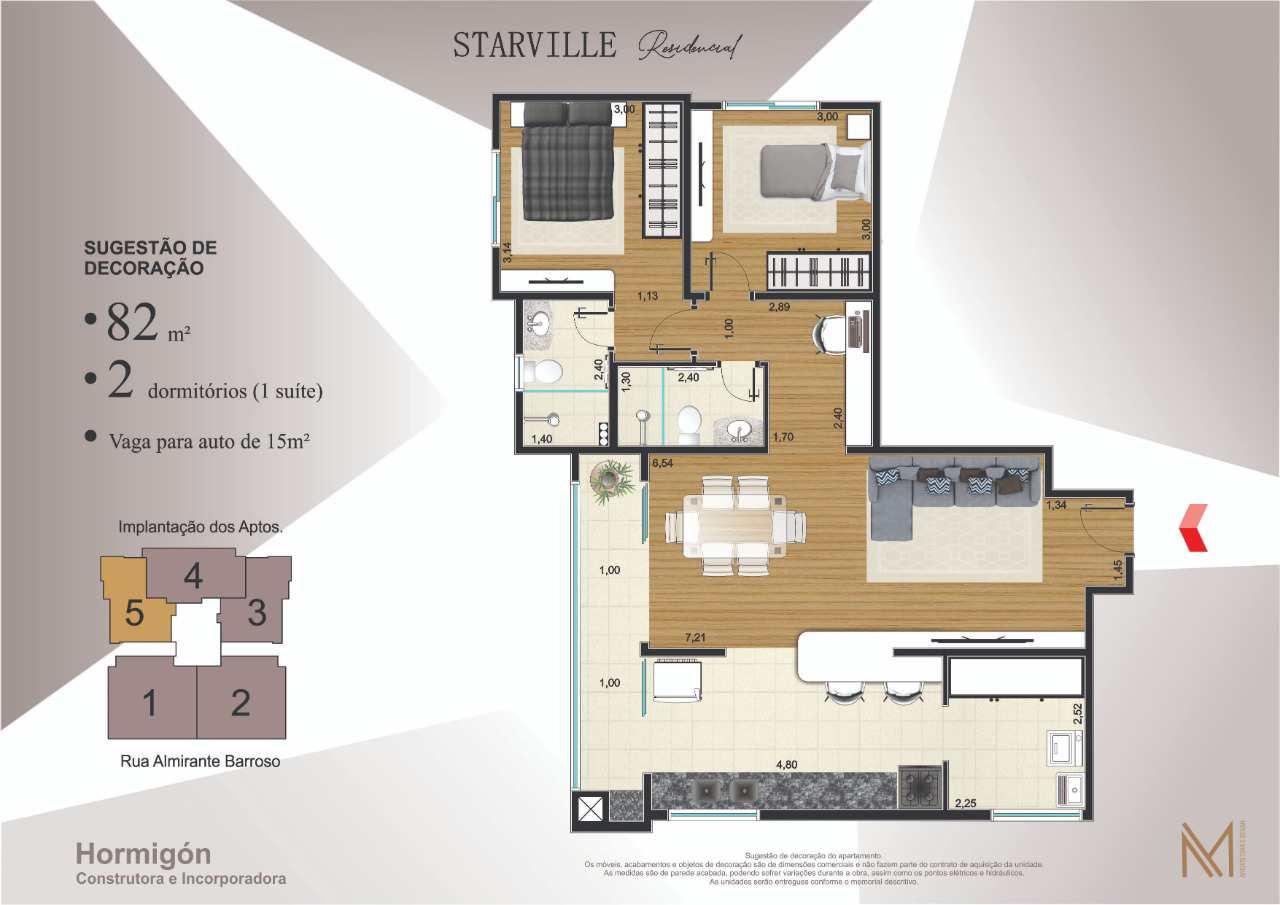 Apartamento com 2 dorms, Centro, Peruíbe, Cod: 146