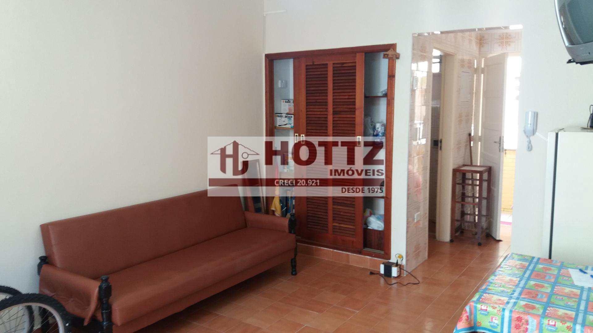 Kitnet com 1 dorm, Caiçara, Praia Grande - R$ 120.000,00, 35m² - Codigo: 022
