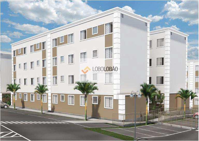 Lançamento apartamento 2 dormitórios à venda, Parque Trivellato, na Bairro do Gurilândia, em Taubaté/SP.