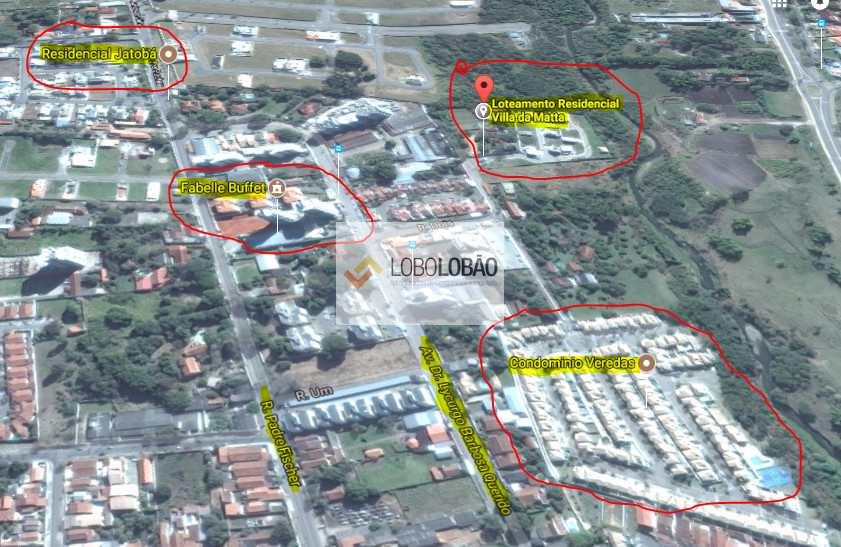 mapa villa da mata condomínio
