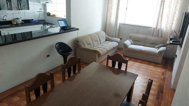 Apartamento com 2 dorms, Vila Mathias, Santos - R$ 330 mil, Cod: 1612
