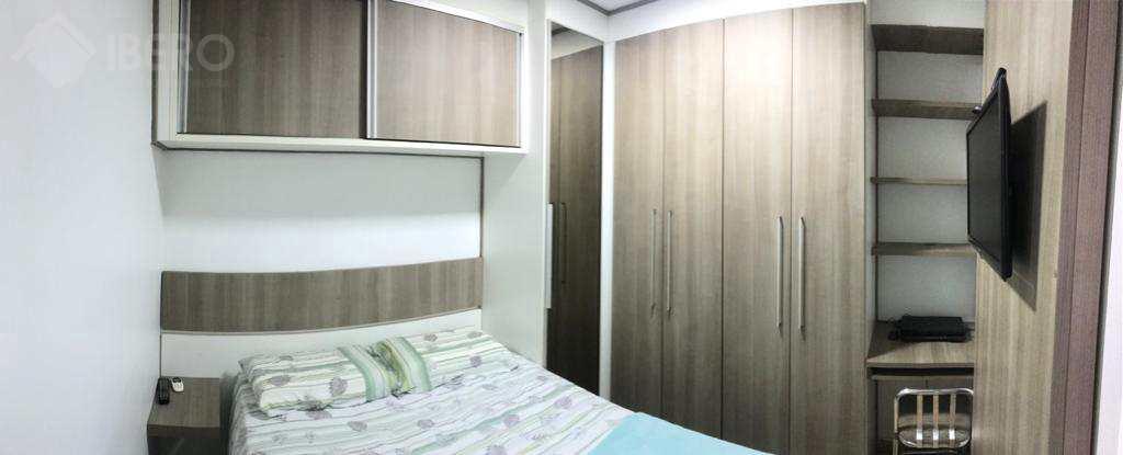 Apartamento com 1 dorm, Itararé, São Vicente - R$ 215 mil, Cod: 1626