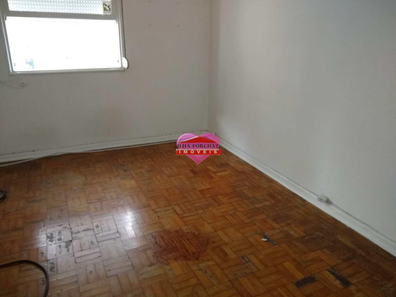 Sala Living com 1 dorm, Centro, São Vicente - R$ 130 mil, Cod: 1166