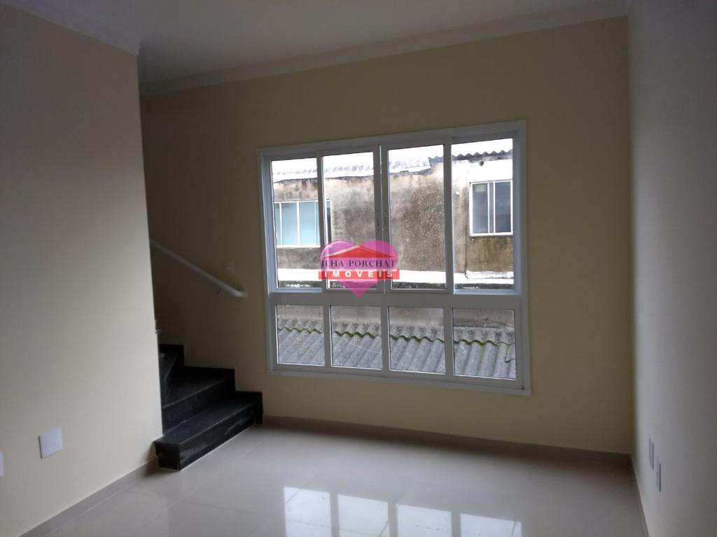 Casa com 2 dorms, Vila Cascatinha, São Vicente - R$ 290 mil, Cod: 1196
