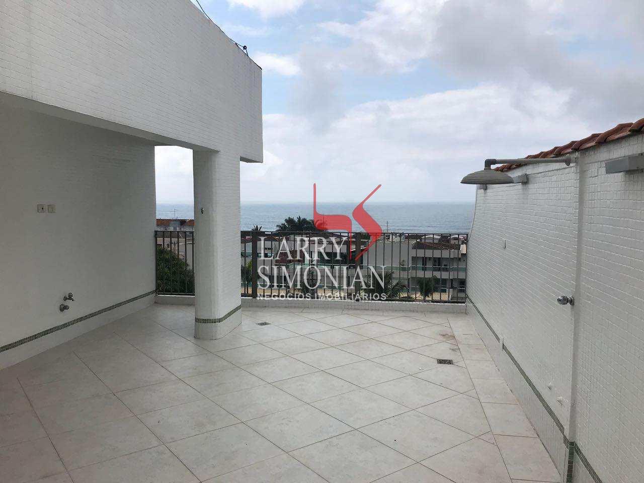 Cobertura com 3 dorms, Tombo, Guarujá - R$ 870 mil, Cod: 620