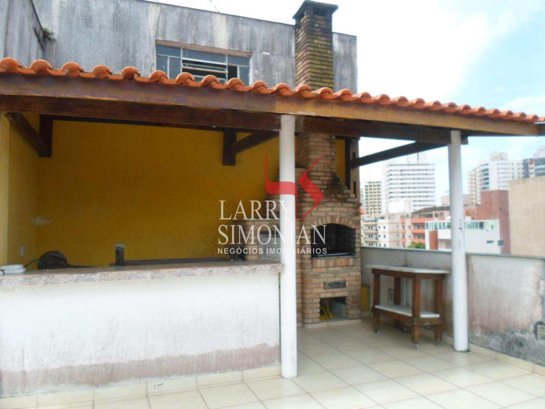 Cobertura com 3 dorms, Jardim Las Palmas, Guarujá - R$ 400 mil, Cod: 433