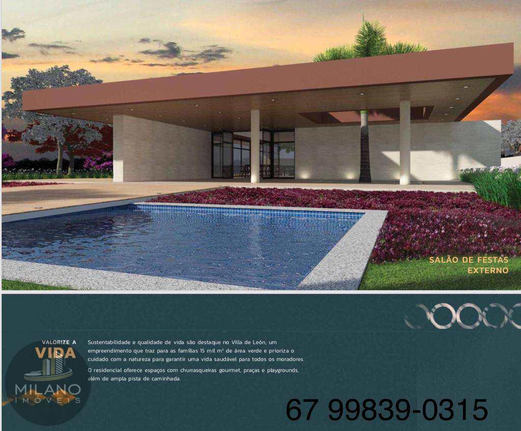 Terreno  venda condomínio Villa de Leon, parcelado, Tres Lagoas