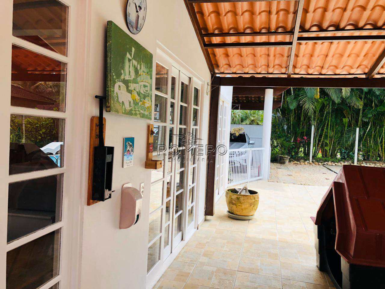 Casa com 4 dorms, Horto Florestal, Ubatuba - R$ 680 mil, Cod: 1176