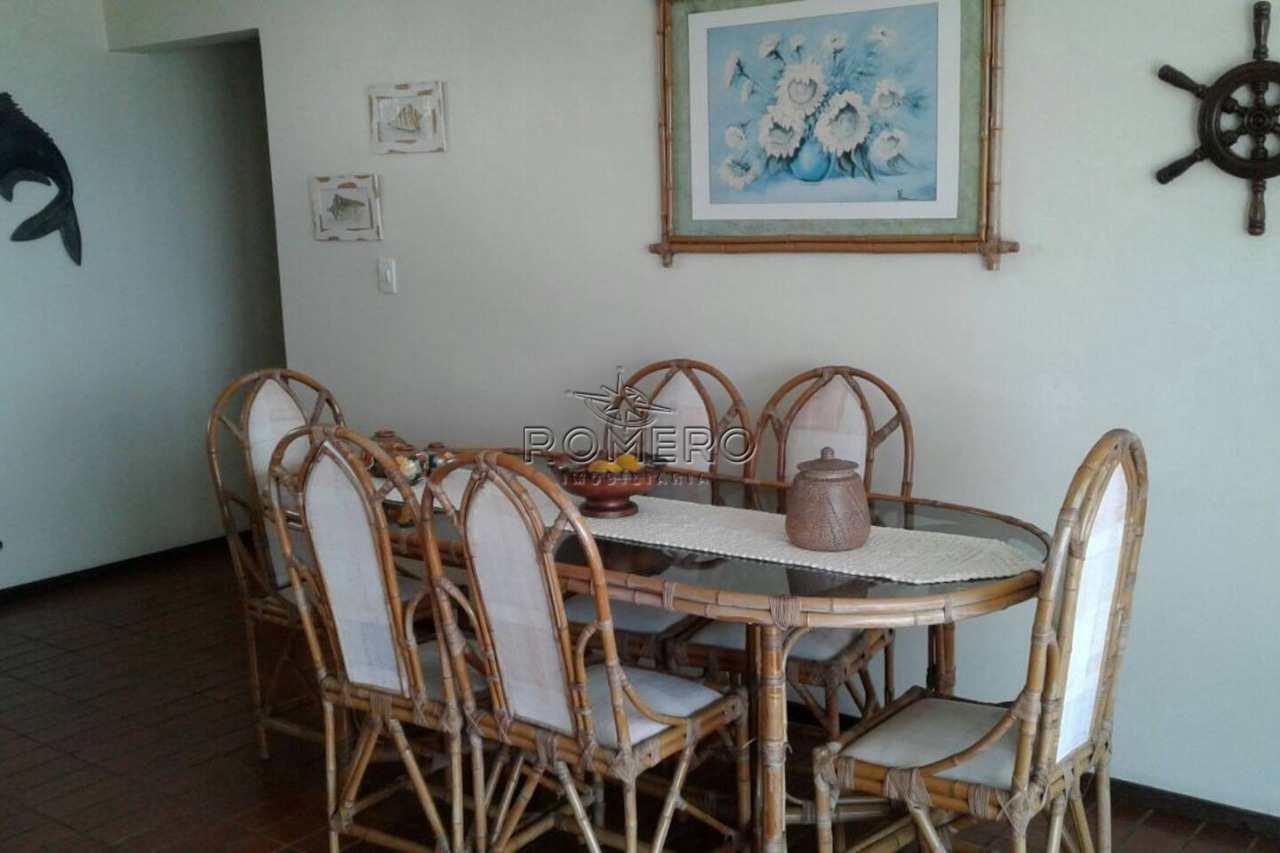 Apartamento com 3 dorms, Praia das Toninhas, Ubatuba - R$ 950 mil, Cod: 1410