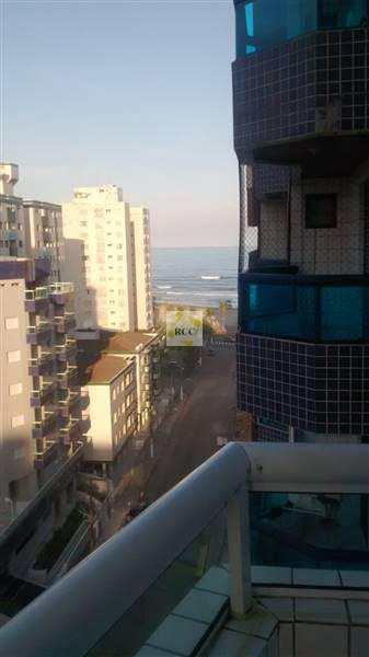 Apartamento com 1 dorm, Ocian, Praia Grande - R$ 175 mil, Cod: RCR43